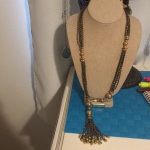 Stella and Dot Gold Long Necklace